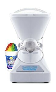 Little Snowie 2 Ice Shaver Machine Snow Cone Syrup Samples Commercial Blade New