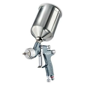 Devilbiss Tekna Ultimate In Primer Gravity Feed Spray Gun W Aluminum Cup