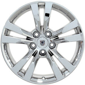 18 Chrome Wheels For Cadillac Sts Dts Cts Ats Dtx 18x8 5 5x115 40 Rims Set 4