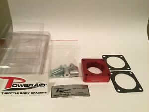 Poweraid Throttle Body Spacer 91 06 Jeep Yj Tj Xj Wj 4 0l I6 Vehicles 310 510
