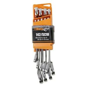 Beta Tools 142 Sc9i Series Reversible Ratcheting Combination Wrench Set