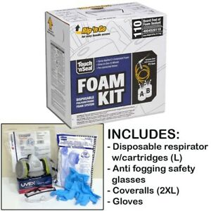 Touch n Seal U2 110 Spray Foam Insulation Kit 110bf W protective Gear large