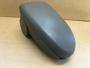 00 07 Ford Focus Front Center Console Armrest Arm Rest Grey Good Latch O64