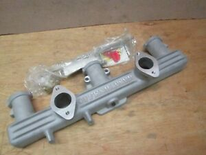 Offenhauser Chevy 2 1 Dual Carb 6 Cyl Intake Manifold 216 235 261 Offy 36 1952