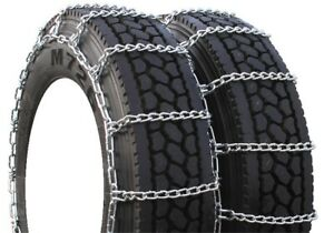 Highway Service Dual 195 75 15 Truck Tire Chains H4209sc