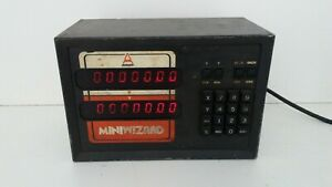 For Parts As Is Anilam Miniwizard W Digital Readout