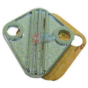 Bbc Big Block Chevy Fuel Pump Block Off Plate With Gasket