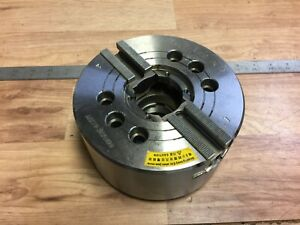 Nice Auto Strong Jaw Power Chuck 2 Jaw W A 2 5 Mount In 206