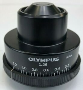 Olympus 1 25 Na Abbe Condenser For Bh And Bx Series Microscope