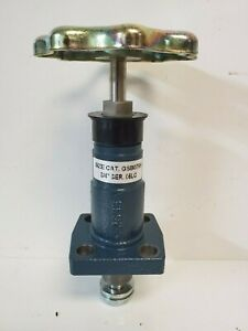New In Box Hansen Globe Valve Gsb076h Bolted Bonnet Handwheel