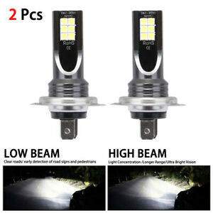 2pcs Set H7 110w 24000lm Led Car Headlight Conversion Globes Bulb Beam 6000k Hot