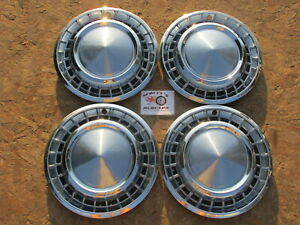 1958 Plymouth Fury Belvedere Savoy Plaza 14 Wheel Covers Hubcaps Set Of 4