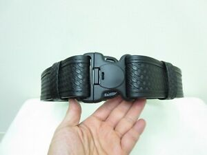 Bianchi Medium 32 To 36 Waist Black 7950 Basketweave Accumold Elite Duty Belt