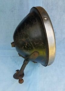 Original Vintage Ford Model T Headlight Brown Ford Script 1926 Ford
