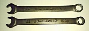 Armstrong 30 111 11 32 Combination Wrench Black 12 Point Usa 2pcs