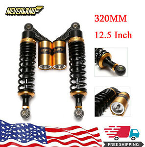 12 5 320mm Adjustable Air Shock Absorbers Suspension For Honda Scooter Quad Atv