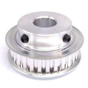1pc Xl 30t Timing Belt Pulley Synchronous Wheel 15mm Bore For 10mm Width Belt