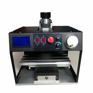 500w 3axis Mini Cnc 1010 Milling Router Column Type Vertical Engraving Machine