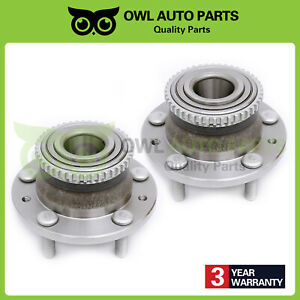 For 00 06 Mazda Mpv Protege Protege5 Millenia Rear Wheel Bearing Hub Set 512269