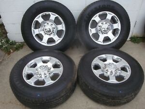 2016 2017 2018 dodge ram 2500 3500 18 X 8 polished wheels tires rims factory oem