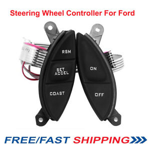 Steering Wheel Cruise Control Button For Ford Explorer Sport Ranger 98 05 F150