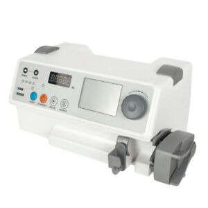 Human Safty Use Medical Syringe Pump Automatically Record Drug Library Oximeter