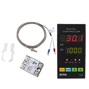 Dual Digital Led Pid Temperature Controller Accurate Reliable Measure Industrial