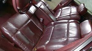 91 96 Chevy Impala Ss Caprice Roadmaster Leather Seat Set front And Rear