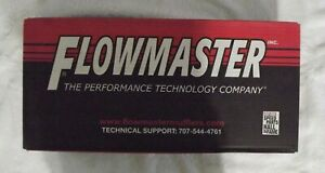 New Flowmaster Exhaust Muffler40 Series 3 Single Inlet 2 5 Dual Outlet 430402