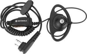 Motorola Solutions Dtr Series Push To Talk Microphone Earpiece With Micropho