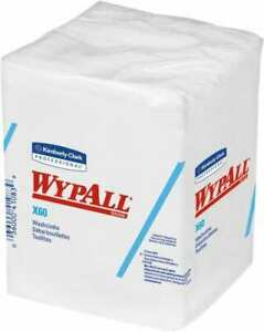 Wypall X60 1 4 Fold Shop Towel industrial Wipes Poly Pack 10 X 10 Sheet Si