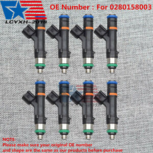 8x New Upgraded Fuel Injectors Fit For 2004 Ford F 150 5 4l V8 0280158003 Usa