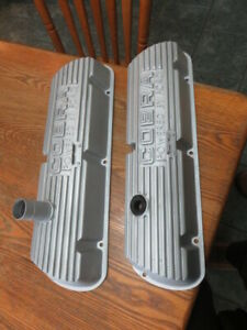 1965 66 Mustang K Code Shelby Gt350 Open Letter Valve Covers Buddy Bar
