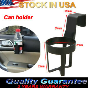 1x Universal Car Truck Drink Water Cup Bottle Can Holder Door Mount Stand Us