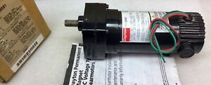Dayton 2h561 Gear Motor 90vdc 1 10 Hp 139 Rpm 12 9 1 Ratio New In Box