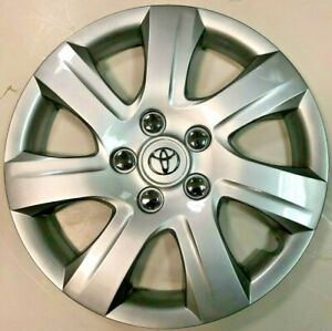 1 New 16 7 Spoke Hubcap Wheelcover Fits 2010 2011 Toyota Camry