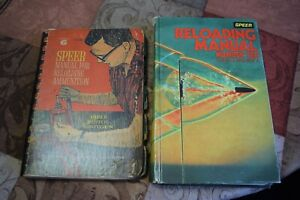 Speer Reloading Manuals Books Lot #6 & #10 (19641981) Rifle Pistol ammo reload