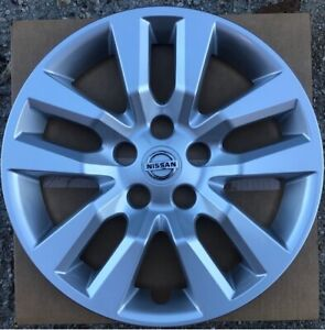1 New 16 Silver Hubcap Wheelcover That Fits 2007 2018 Nissan Altima