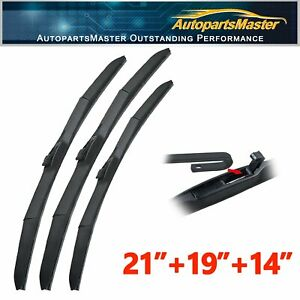 Front Rear Windshield Wiper Blades Fit For Mazda Protege5 2003 2002 21 19 14