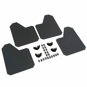 4 Splash Guards 9 X 12 Universal Mud Flaps Standard Coverage Stone Guards