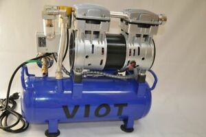 Twin Piston Vacuum Pump vacuum Tank pressure Control 5 5 Cfm Automatic Workshop