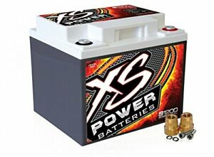 Xs Power S1200 S Series 12v 2 600 Amp Agm Automotive Starting Battery With Te