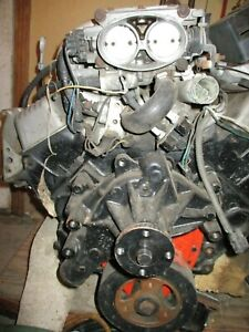 Used 1985 Camaro Engine W 60k 5 0 tpi 305 W cars Complete Harness And Computer