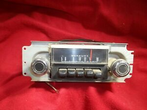 1950 S 60 S Ford Mercury Am Radio Orig Fomoco Radio Rat Rod Falcon Torino
