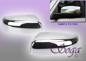For 2009 2018 Dodge Ram 1500 2500 3500 Chrome Mirror Tophalf Covers No Signal Us