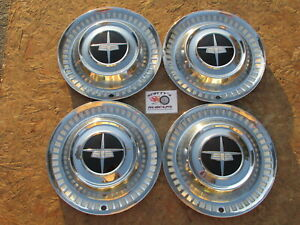 1956 Dodge Custom Royal Lancer 15 Wheel Covers Hubcaps set Of 4