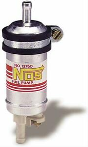 Two 2 Nos Fuel Pump Electric High flowing Low pressure External Universal
