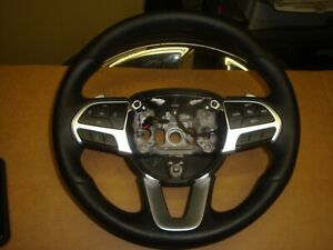 2015 18 Dodge Charger R t Scat Pack Factory Black Leather Steering Wheel