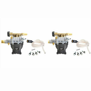 Simpson 3100 Psi 2 5 Gpm Pressure Washer Horizontal Axial Cam Pump Kit 2 Pack