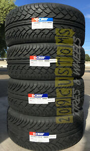 4 New Dcenti D9000 275 25 28 100y All season High Performance Tire